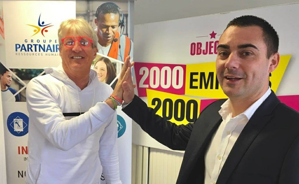 Alex Vagner - Nicolas Goglu - 2000 emplois 2000 sourires
