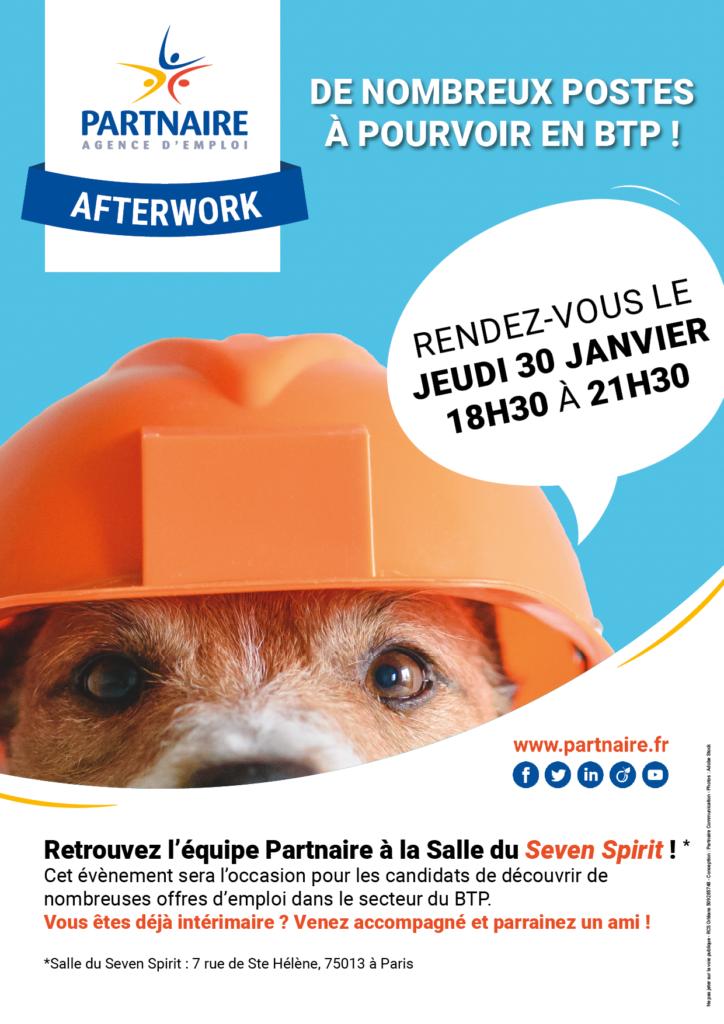 afterwork btp paris