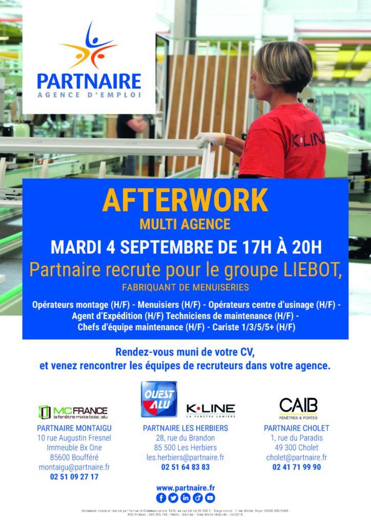 Afterwork Liebot recrutement emploi Partnaire