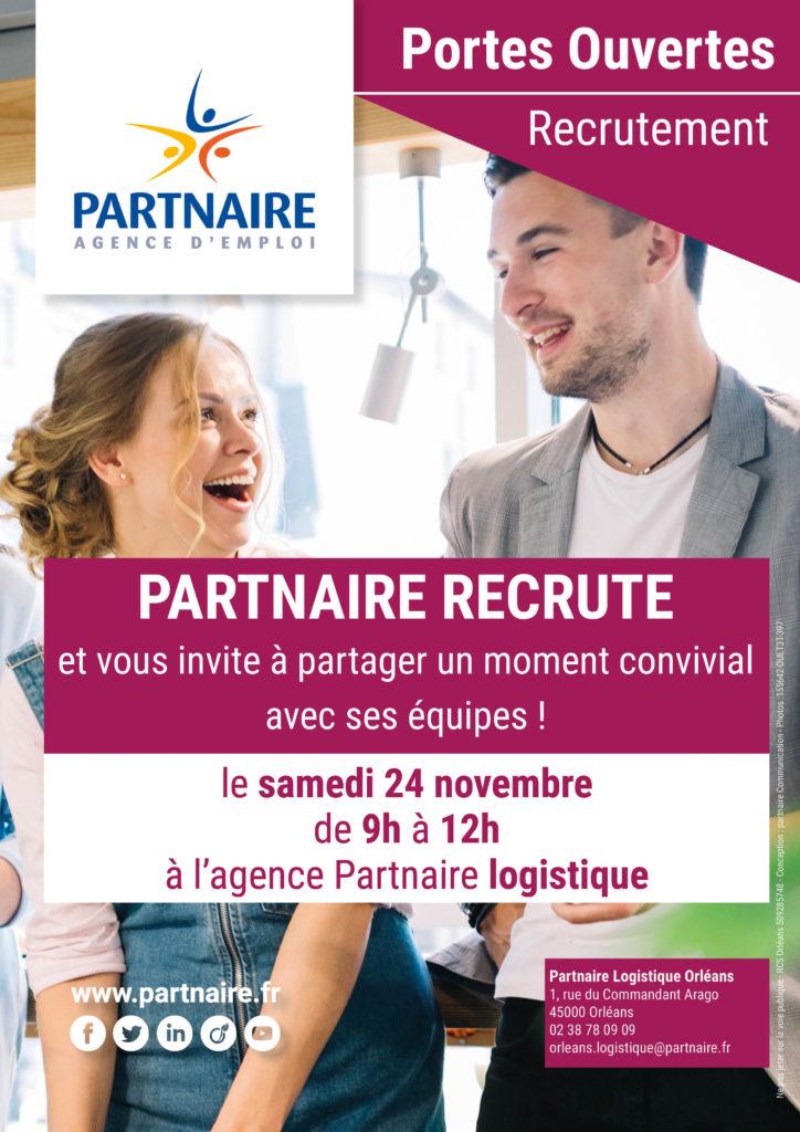Portes ouvertes recrutement logistique Orléans