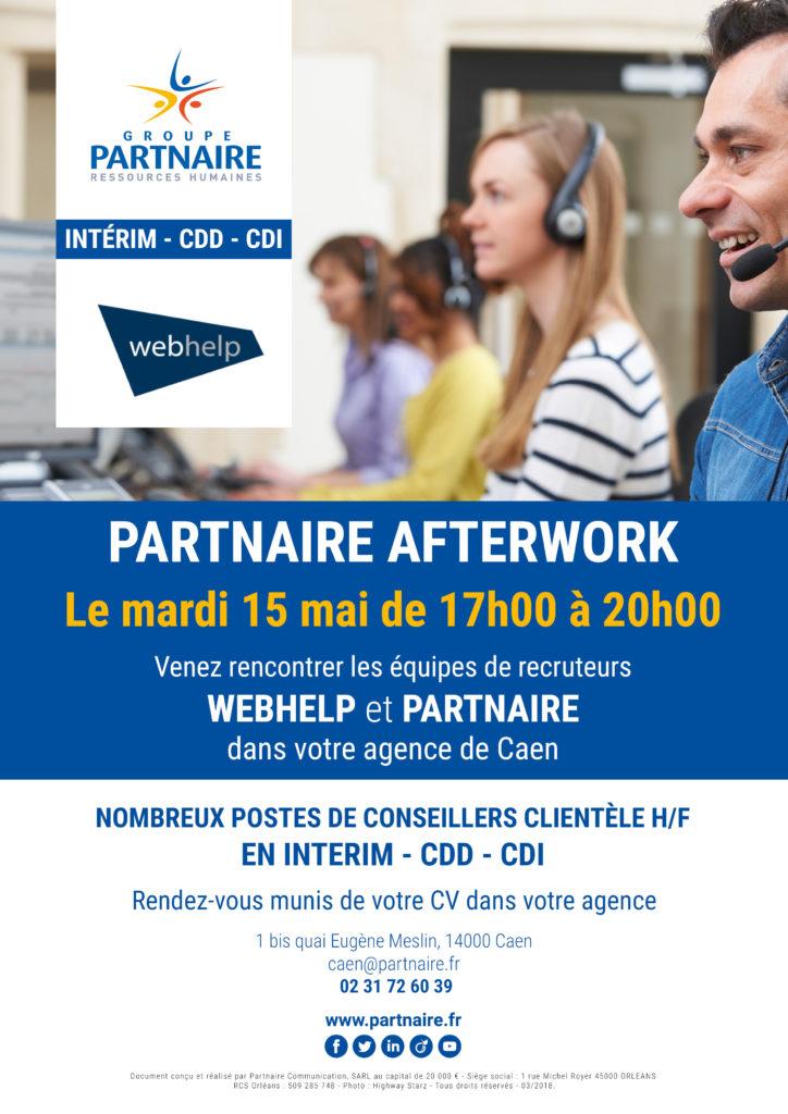 Afterwork Webhelp - emploi Caen
