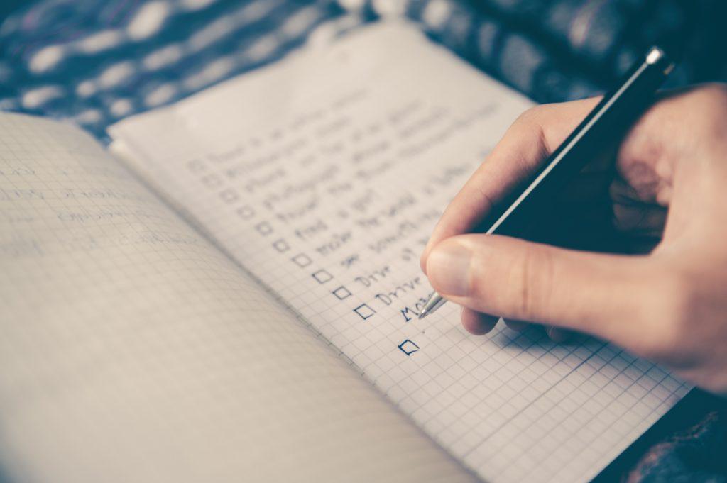 Liste de tâches