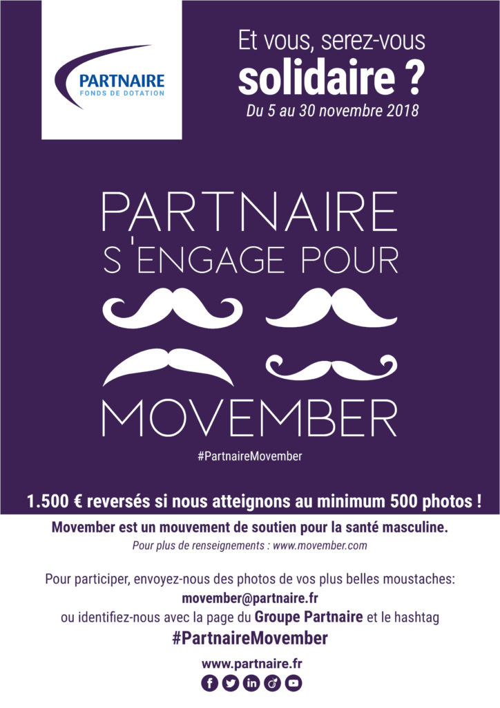Movember Partnaire