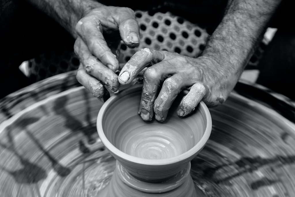 création poterie